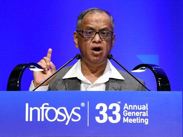 Narayana Murthy speaks about Infosys