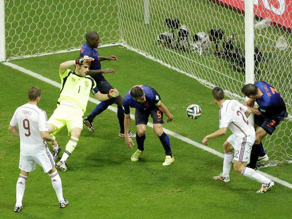 Van Gaal speaks on defeating Spain