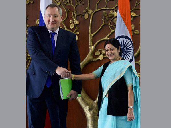 Russian Deputy PM meets Sushma Swaraj