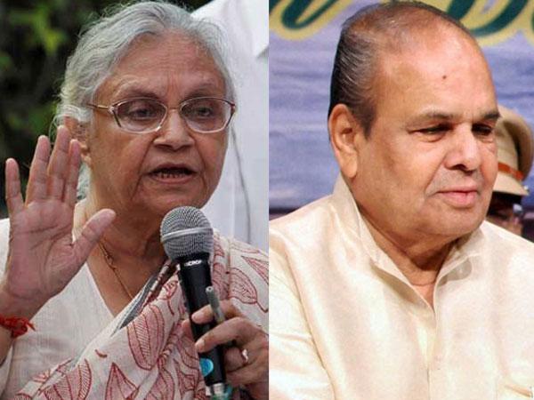 Sheila Dikshit and Maharashtra Governor