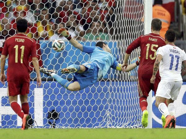 Chile send Spain packin