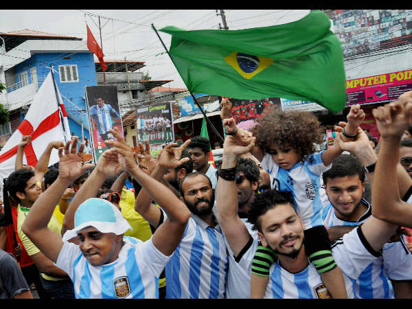 World Cup fever in Kochi