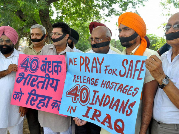 Indians kidnapped in Iraq