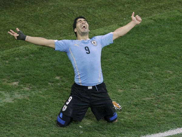 File photo: Uruguay missed the services of their superstar Luis Suarez
