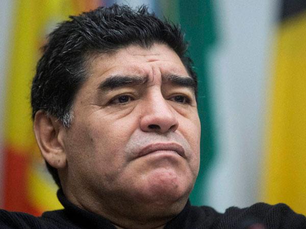 Maradona hits out at AFA President