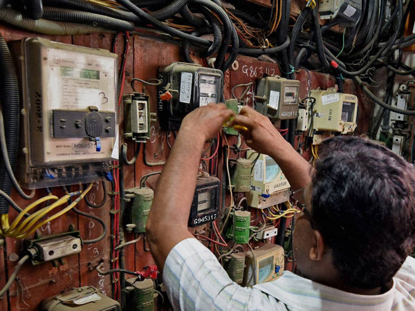 BMC officials disconnect the electric supply to the Campa Cola Society