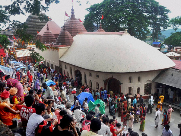 Devotees gather at Kamakhya temple on the 3rd day