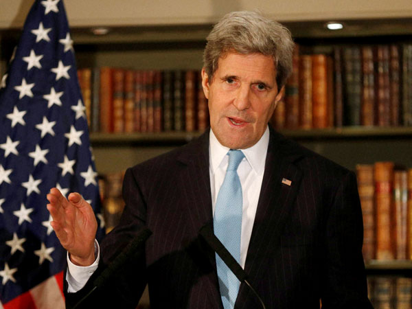 Iraq is facing existential threat: Kerry