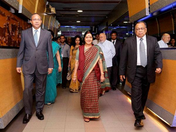 Sushma Swaraj in Bangladesh