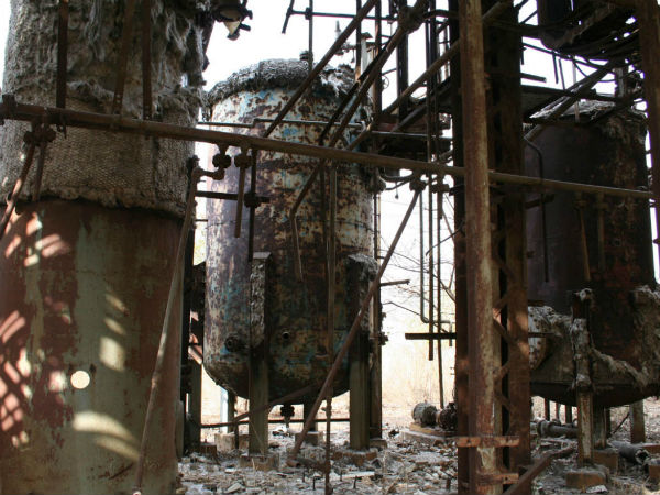 File Photo, Union Carbide Factory which caused Bhopal Gas tragedy in 1984. Image- Wikipedia