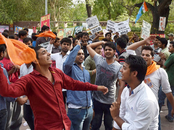 UGC-DU row continues for fourth day