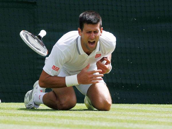 Djokovic wins after injury scare