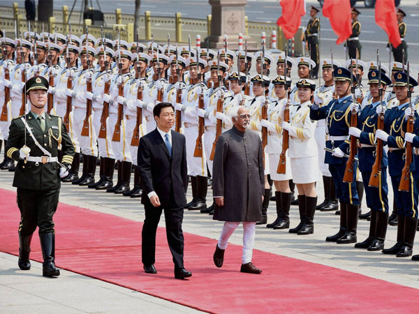 Ansari inspects guard of honour