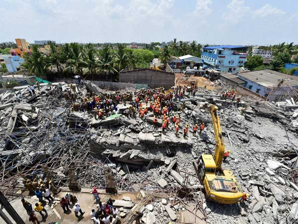 Chennai building collapse