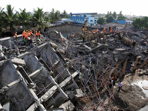 Building collapse: Toll rises to 17