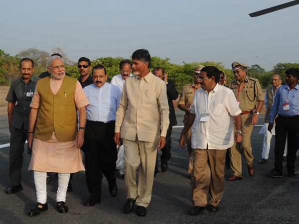 Chandrababu Naidu meets PM