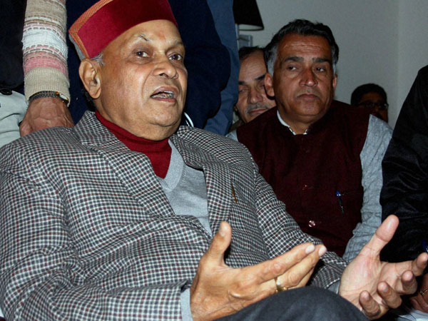 Virbhadra Singh, Prem Kumar Dhumal fighting from new seats