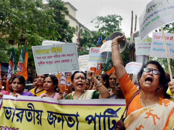 protest-against-tapas-paul
