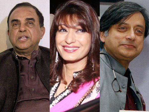 Swamy, Sunanda and Tharoor