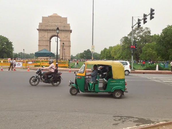 Temperature dropped at India Gate