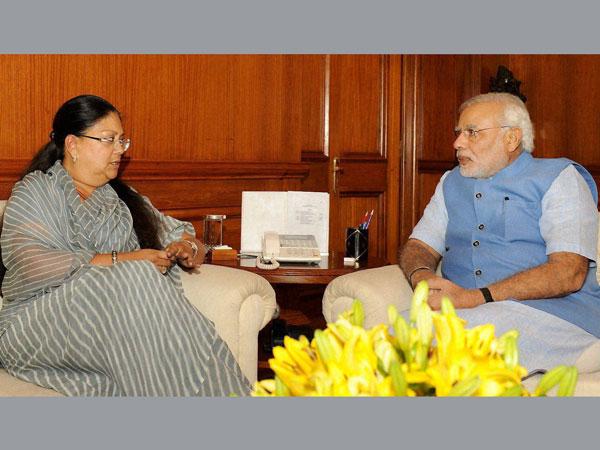 Rajasthan CM calls on PM Modi