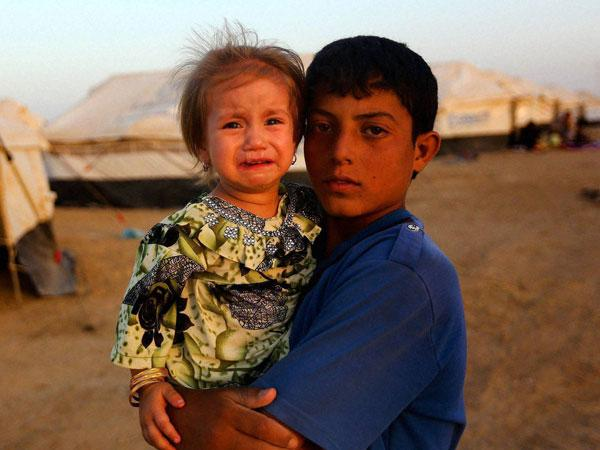 Children stranded in Iraq