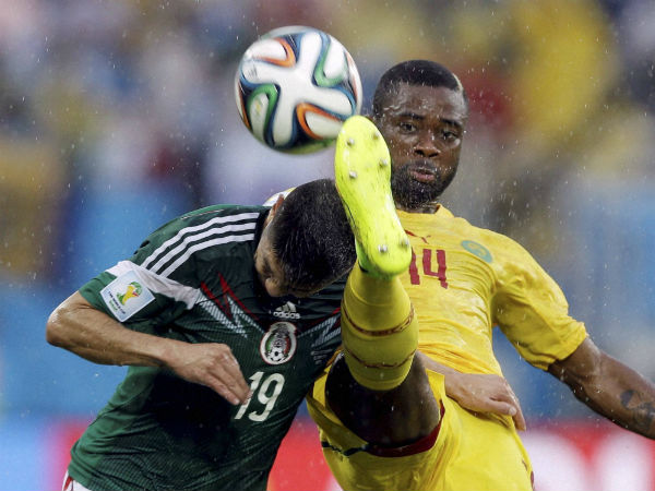 File photo: Action from Mexico-Cameroon match at the World Cup
