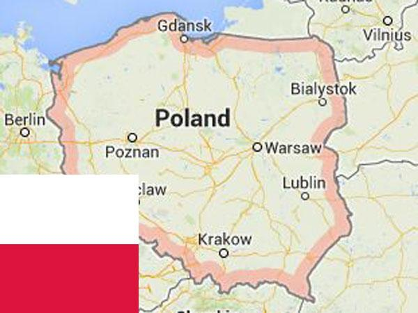 Southern Poland Map.Poland 11 Killed In Private Plane Crash 1 Survives Oneindia News