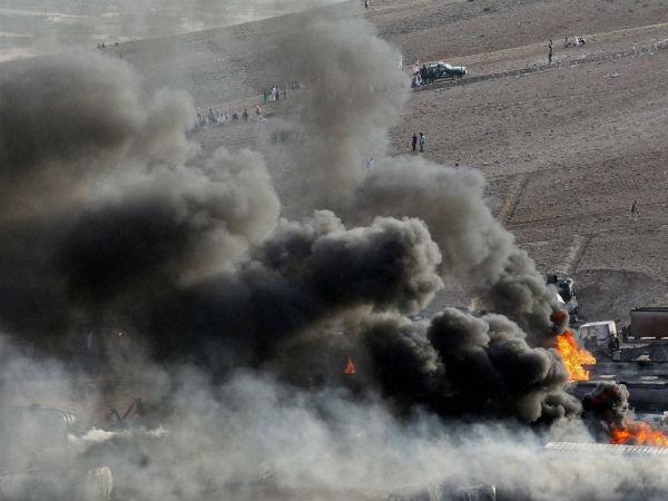 taliban-put-oil-tankers-on-fire