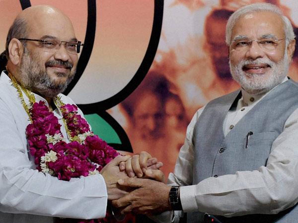 BJP will get stronger under Shah: Modi