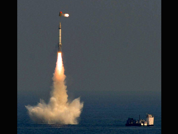 Navy successfully test fires MR-SAM from INS Kochi