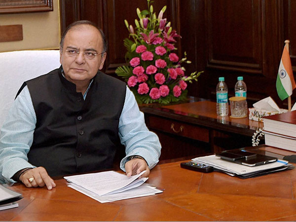 Jaitley presents maiden budget