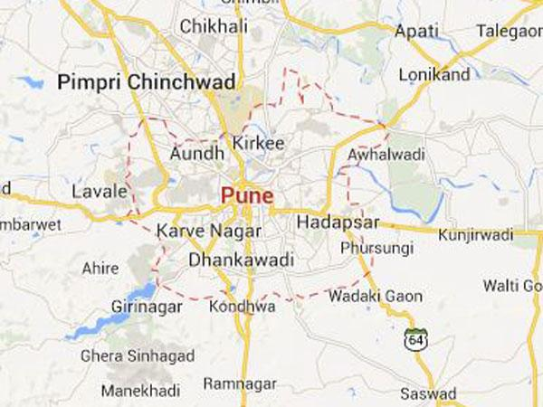 Blast at Pune Police Station