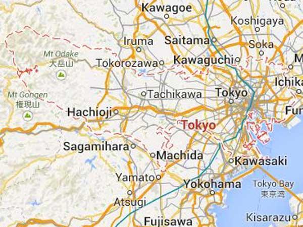 Typhoon makes landfall in Japan