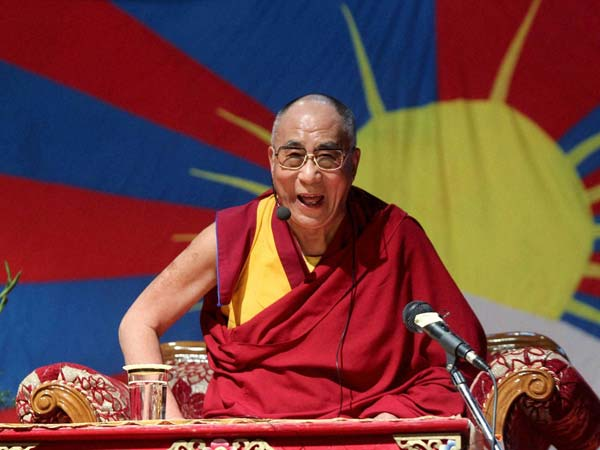 5,000 foreigners to listen to Dalai Lama