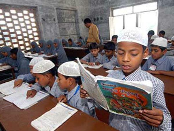 Madrasa students