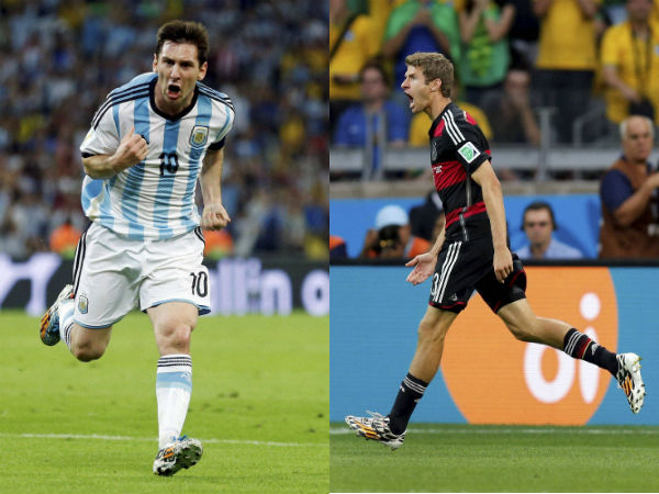 Watch out for these two in the final - Messi and Muller