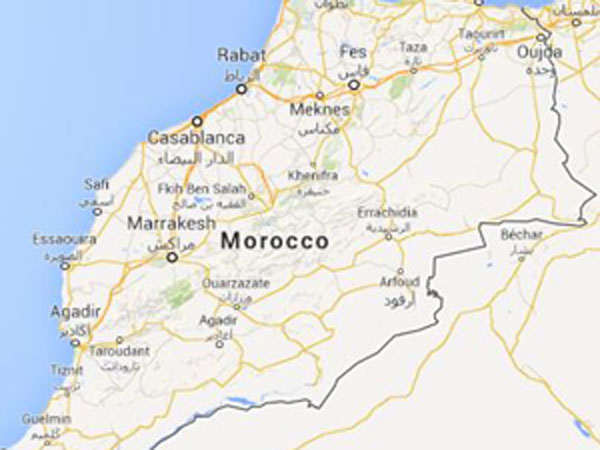 morocco, building, collapse