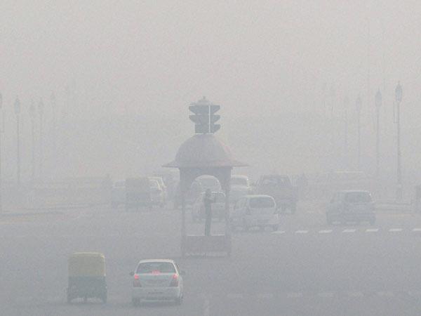 Muggy morning in Delhi