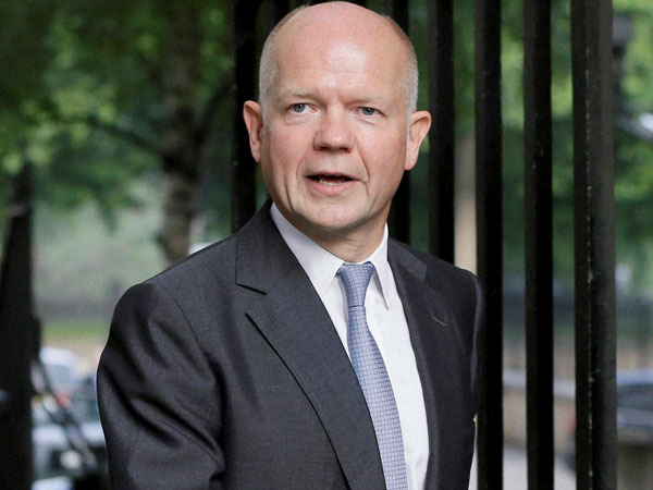 Hague steps down as foreign secratary