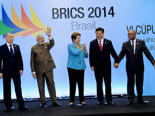 6th BRICS summit in Ceara events centre, Fortaleza in Brazil