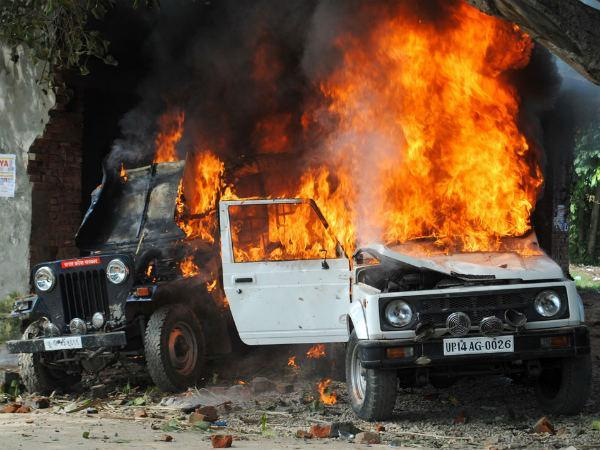 communal riots