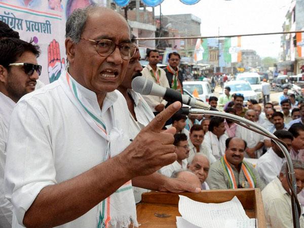 Digvijay Singh questions BJP