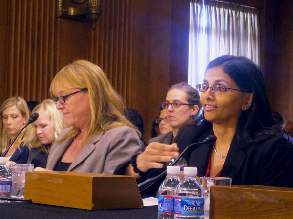 Biswal testifies before Congressional committee