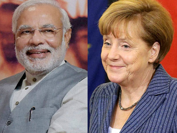 PM Modi speaks to Merkel