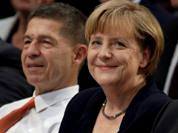 German Chancellor and chairwoman of the German Christian Democratic party