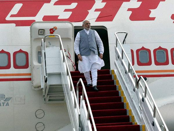 Modi's plane