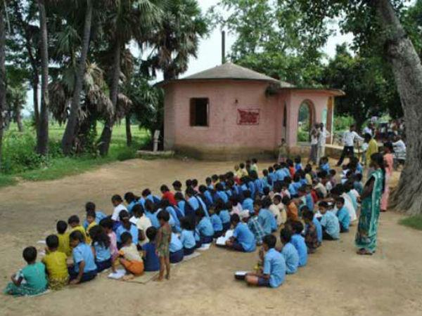 Bihar school education in pathetic state.