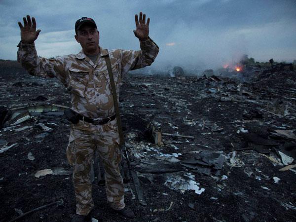 Debris of MH 17