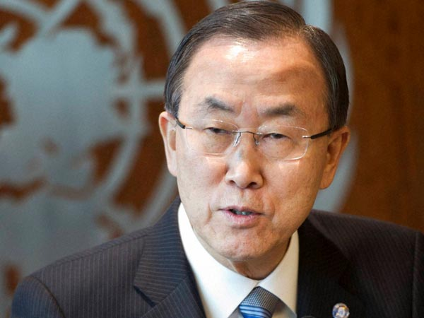 Moon condemns attack on Christians